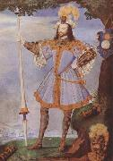 Nicholas Hilliard Portrait of George Clifford,Earl of Cumberland (mk08) oil painting picture wholesale